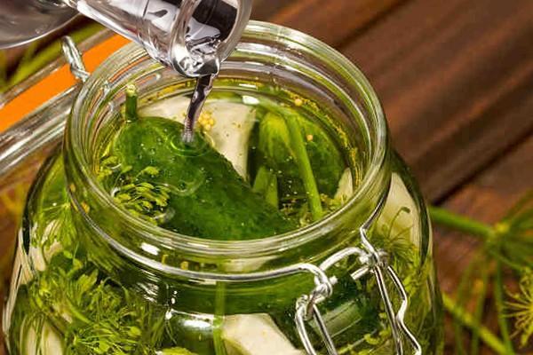 cucumber cooking process
