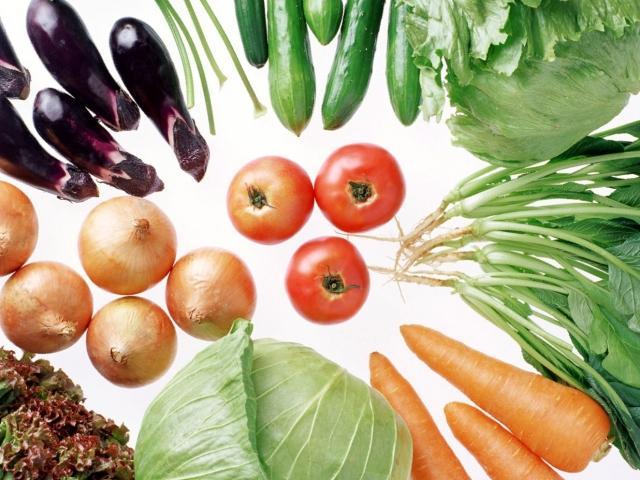 različito povrće
