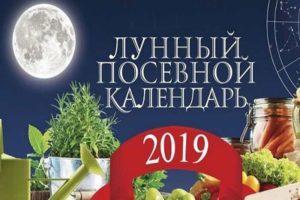 Calendrier lunaire des semis du jardinier et du jardinier pour 2020 et table de plantation