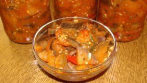 3 mejores recetas para hacer berenjena tártara para el invierno en casa