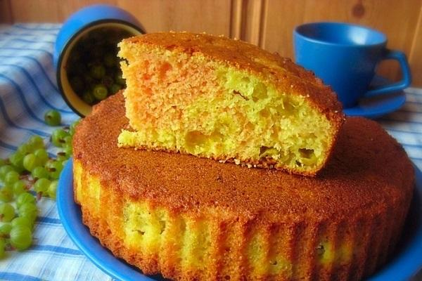 pastel cocido