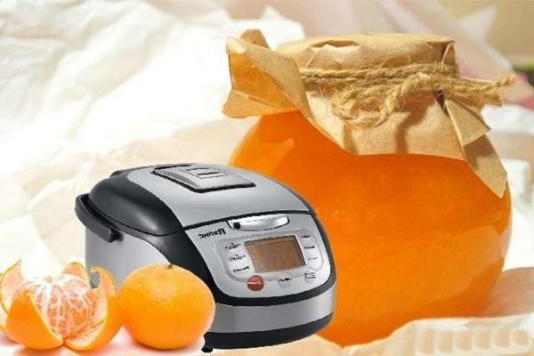 Mandarin jam multicooker recept