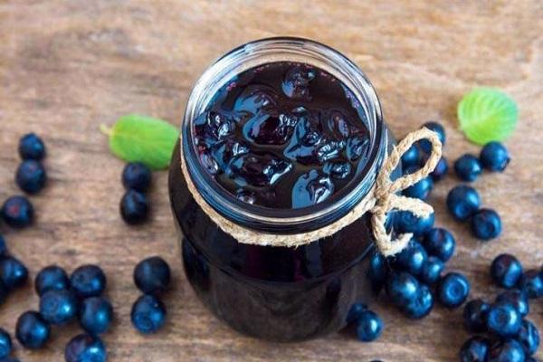 čučoriedkový džem