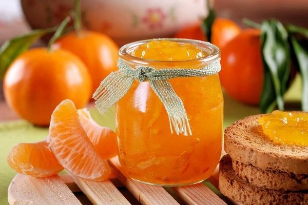 rodajas de mandarina
