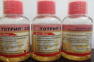 A Totril gyomirtó használati útmutatója és leírása