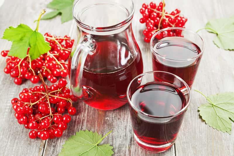 jugo de viburnum