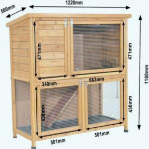 Diagramas y dibujos de jaulas para conejos decorativos y cómo hacerlo tú mismo.