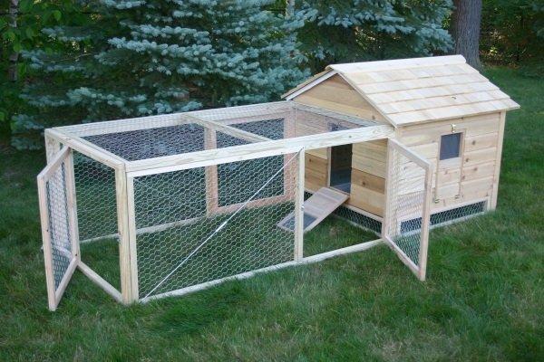 huis voor ganzen en eenden